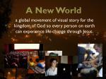 a new world9