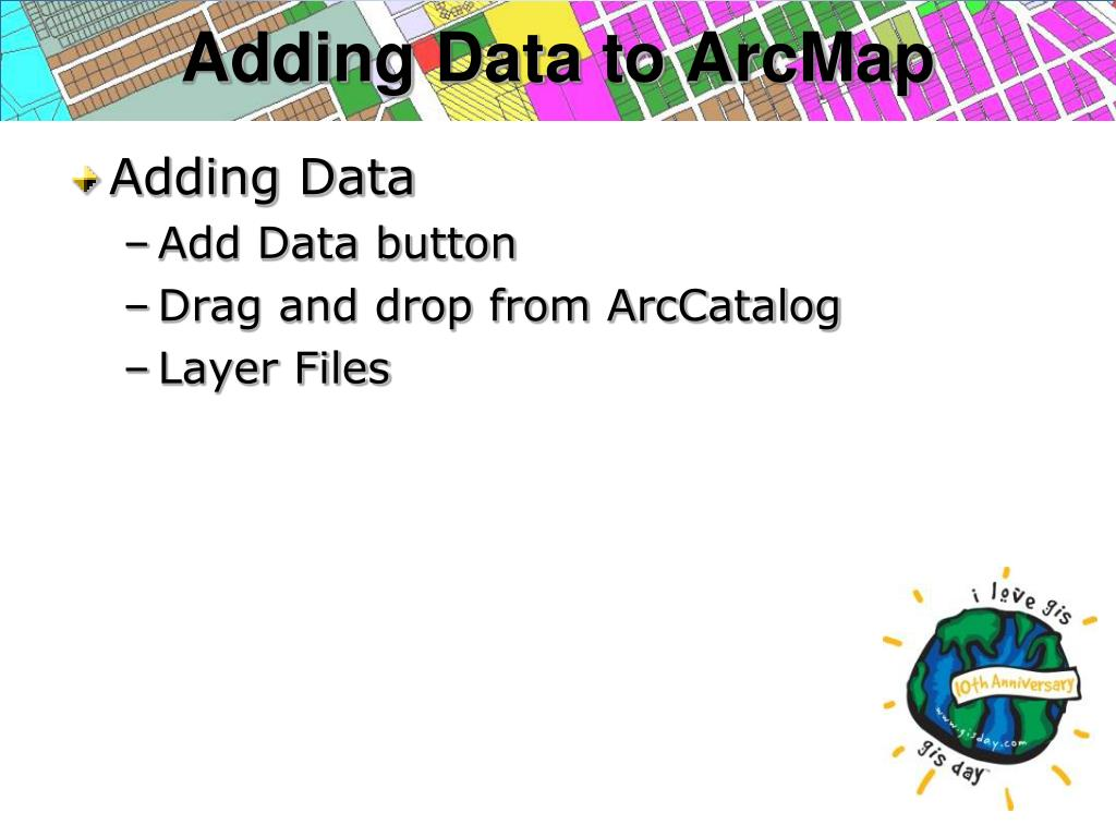Adding Data to ArcMap