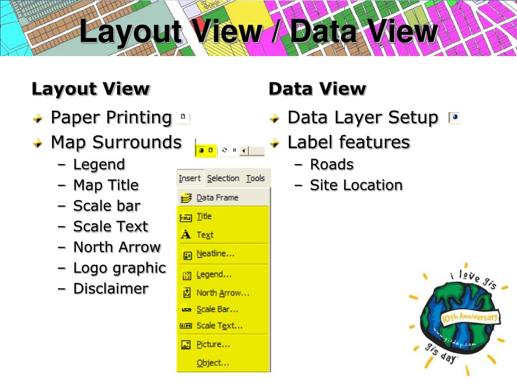 Layout View / Data View