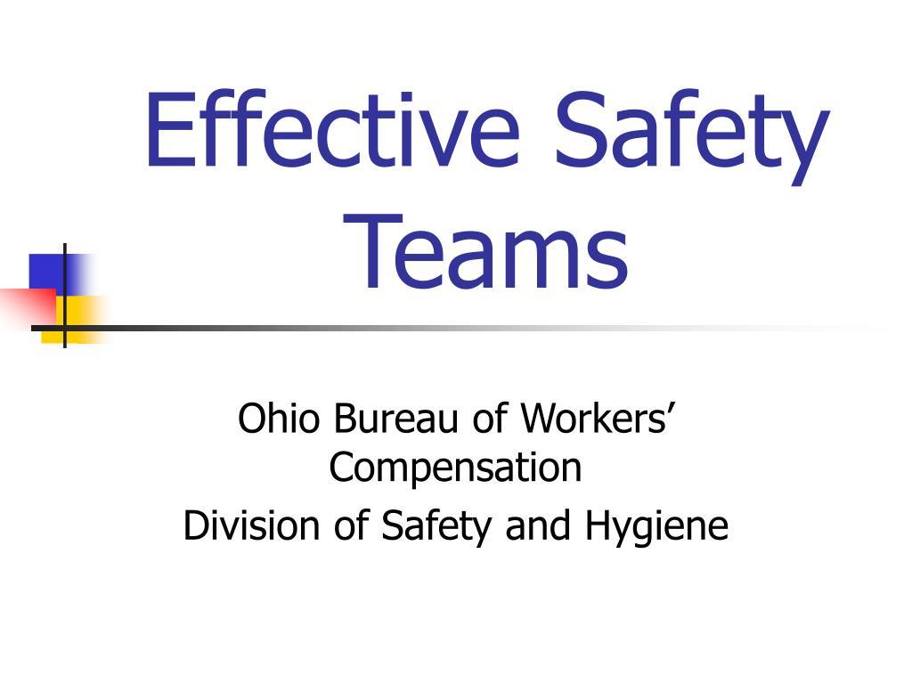 effective safety teams l.