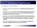 the investors in people framework13