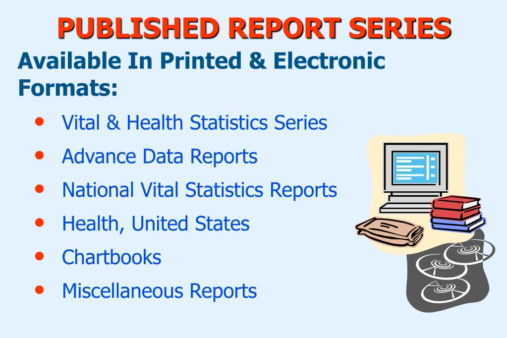 PUBLISHED REPORT SERIES