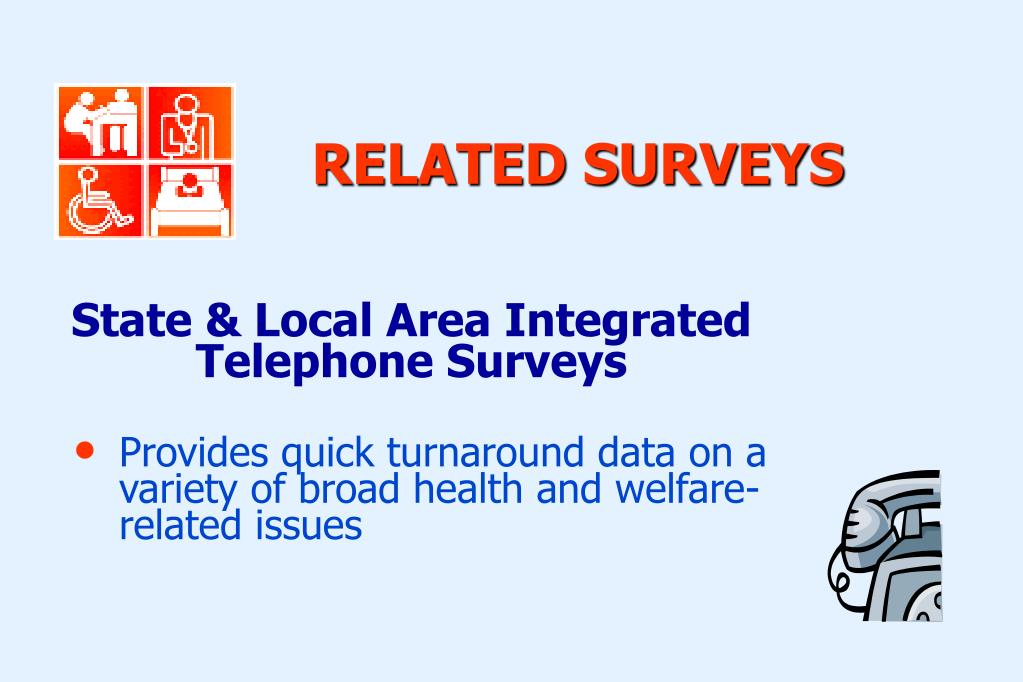 State & Local Area Integrated Telephone Surveys