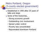 metro portland oregon 3 county elected government