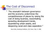 the cost of disconnect