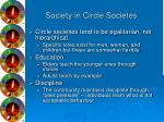 society in circle societes