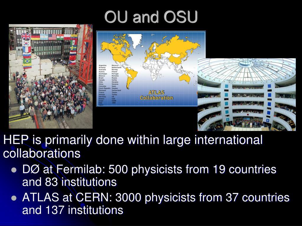 OU and OSU