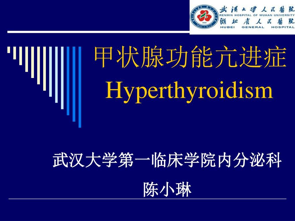 hyperthyroidism l.