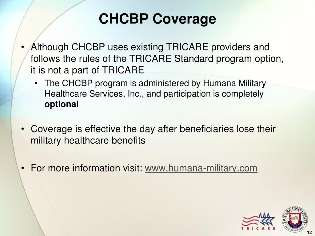 CHCBP Coverage