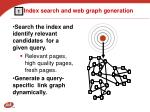 index search and web graph generation