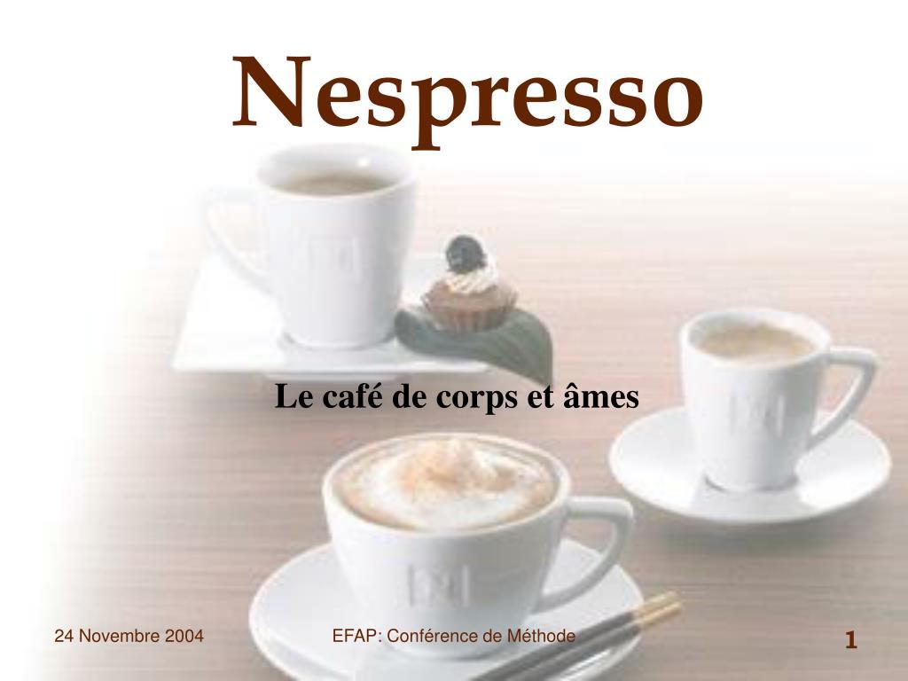 nespresso l.