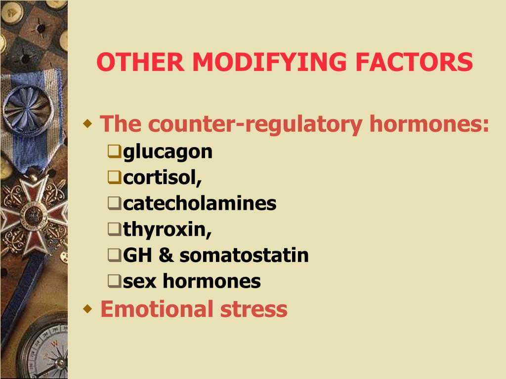 OTHER MODIFYING FACTORS