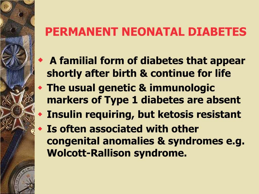 PERMANENT NEONATAL DIABETES