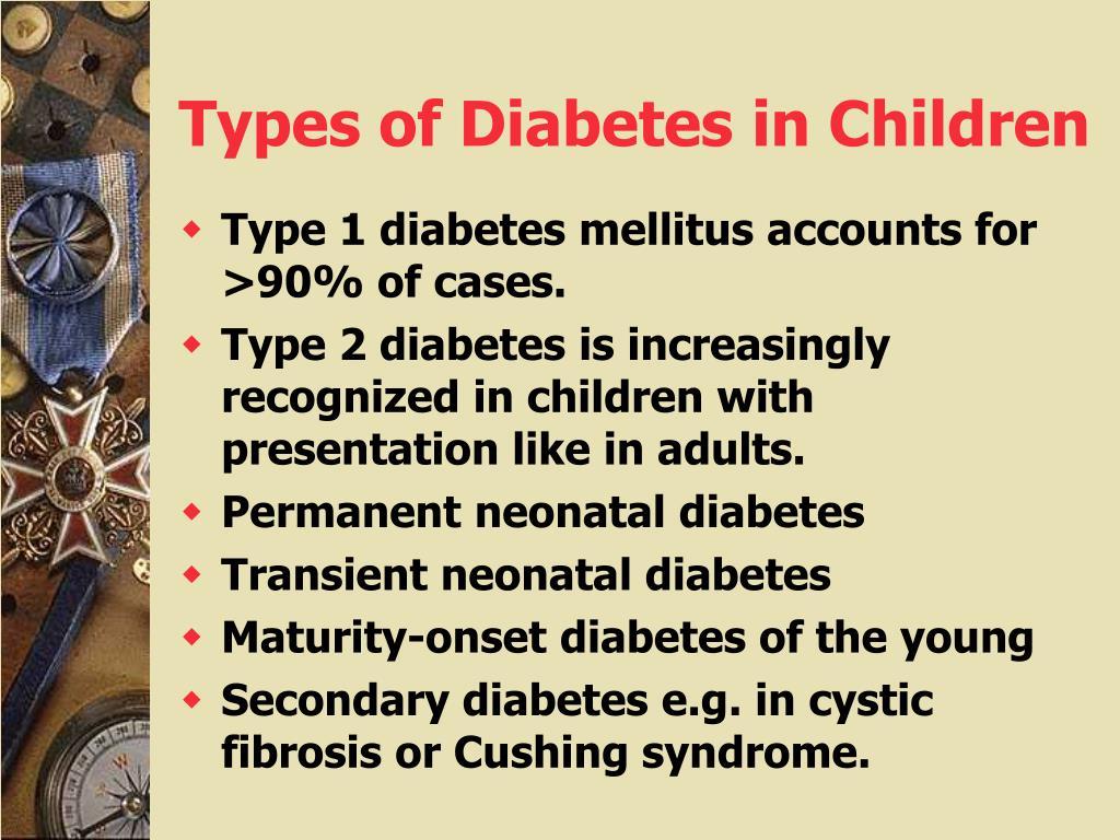 Types of Diabetes in Children