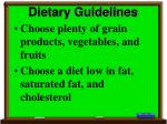 dietary guidelines31