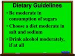 dietary guidelines32