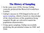 the history of sampling7