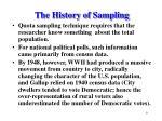 the history of sampling9