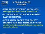 a regulation ec 1071 20093
