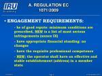 a regulation ec 1071 20095