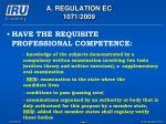 a regulation ec 1071 20097