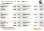 company structure divisions key figures of continental ag