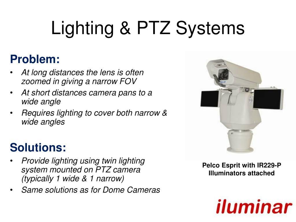 Lighting & PTZ Systems