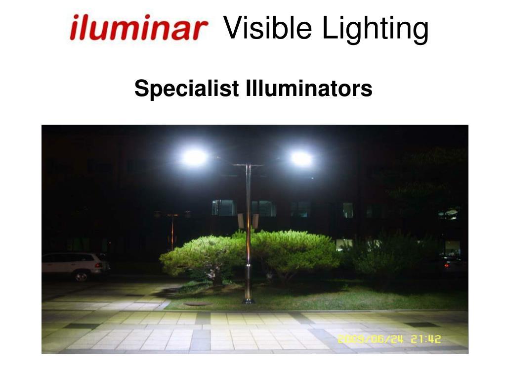 Visible Lighting