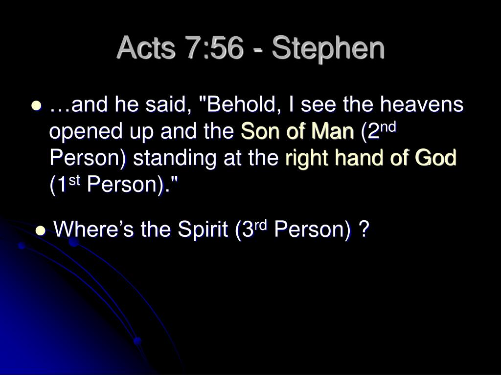 Acts 7:56 - Stephen