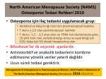 north american menopause society nams osteoporo z tedavi rehberi 2010