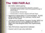 the 1990 fair act