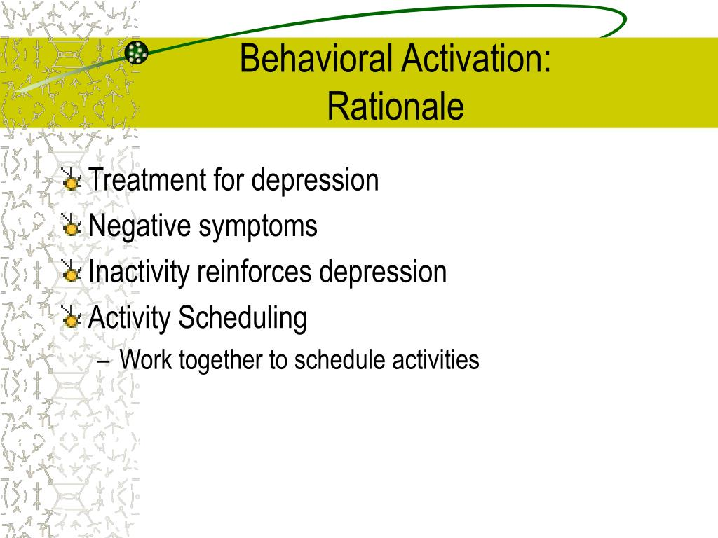 Behavioral Activation: