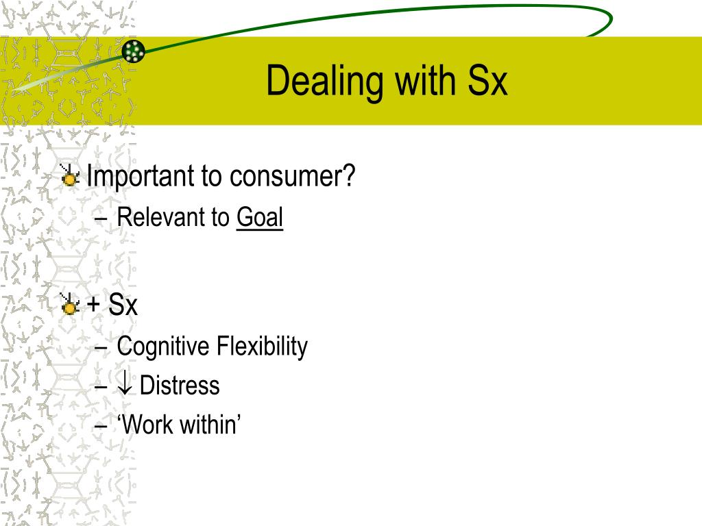 Dealing with Sx