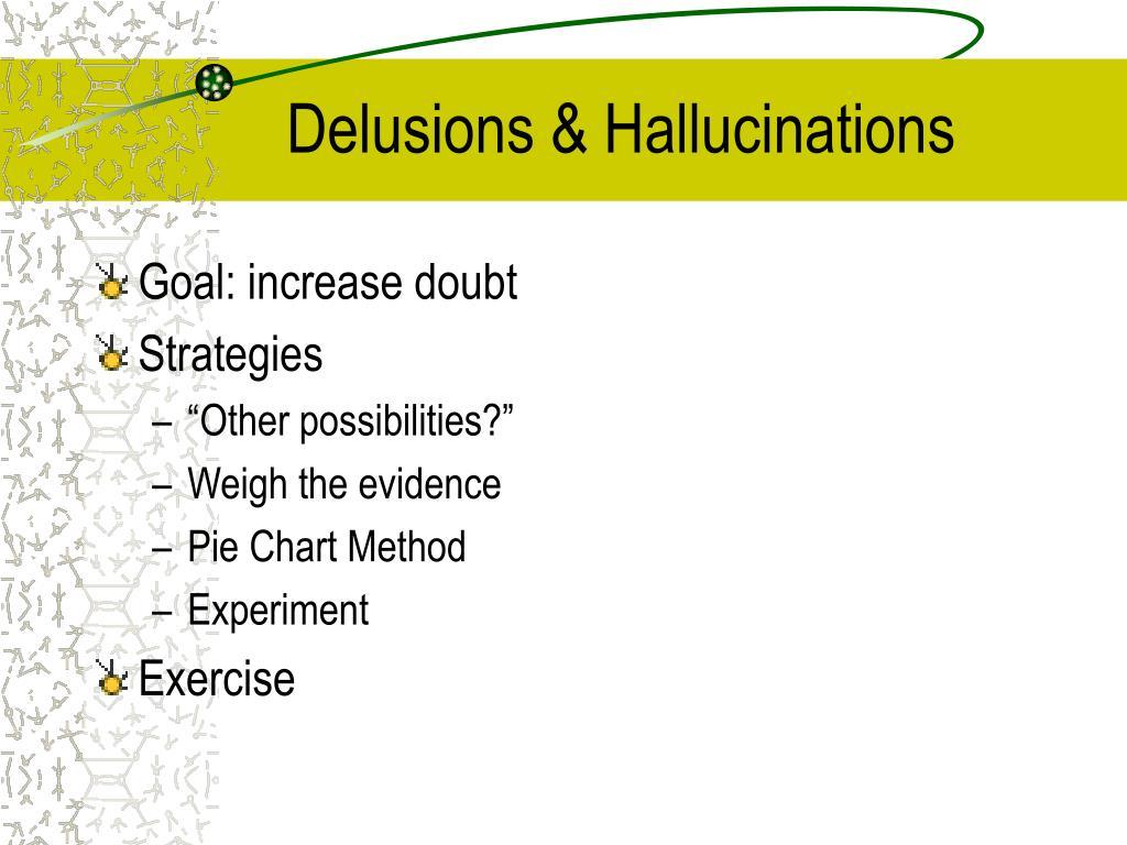 Delusions & Hallucinations