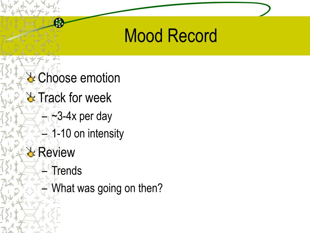 Mood Record
