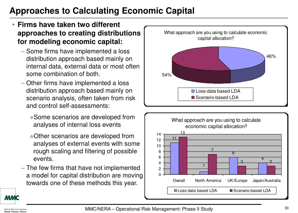 Approaches to Calculating Economic Capital