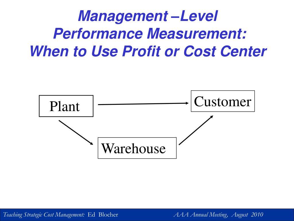 Management –Level