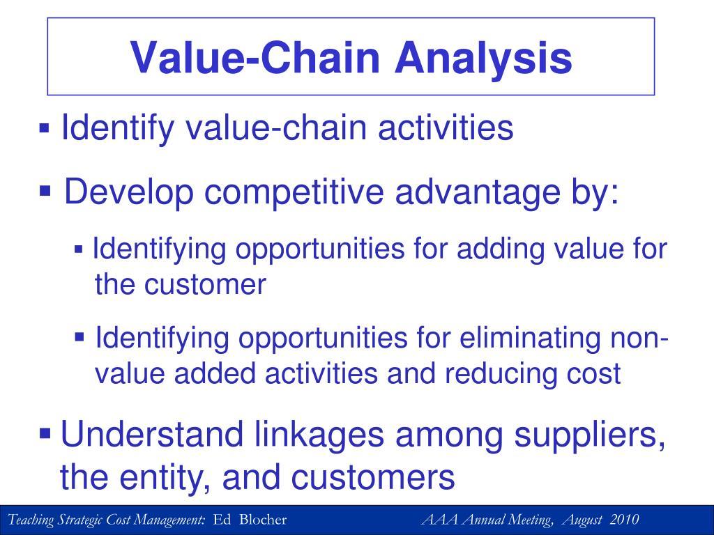 Value-Chain Analysis