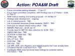 action poa m draft