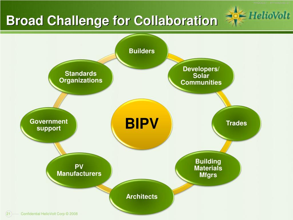 Broad Challenge for Collaboration