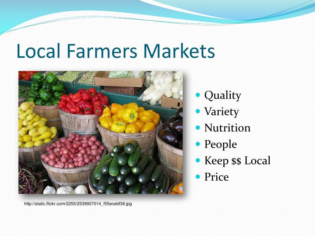 Local Farmers Markets
