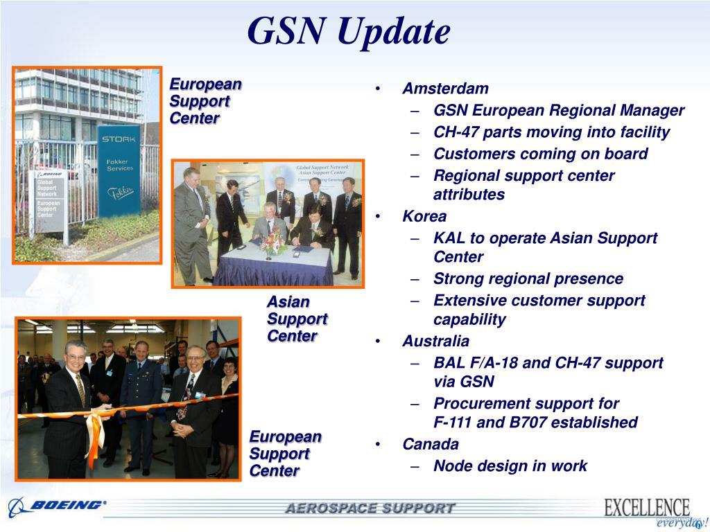 GSN Update