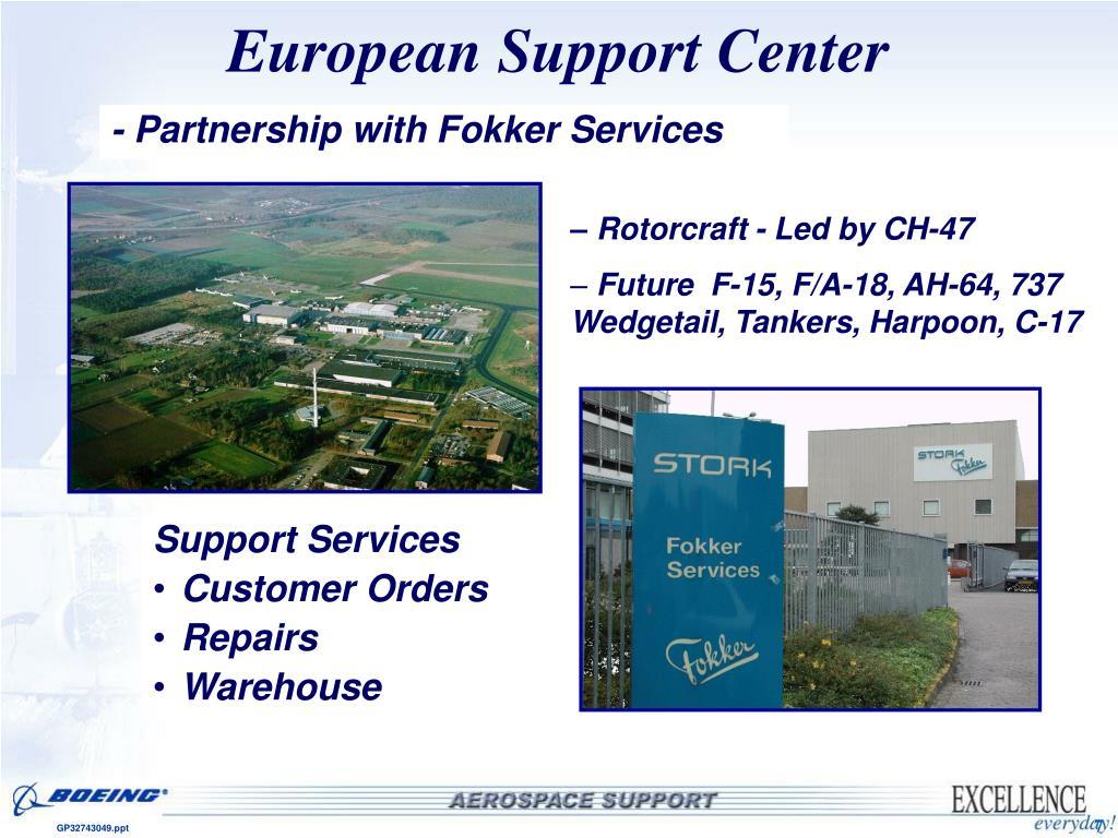 European Support Center