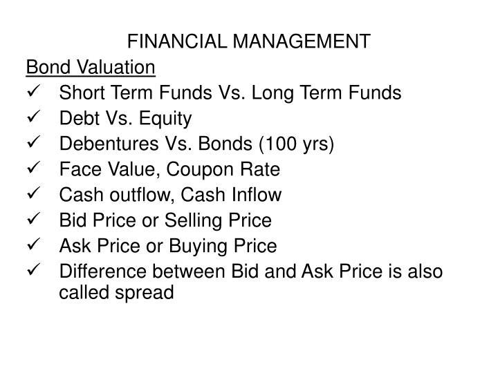 FINANCIAL MANAGEMENT
