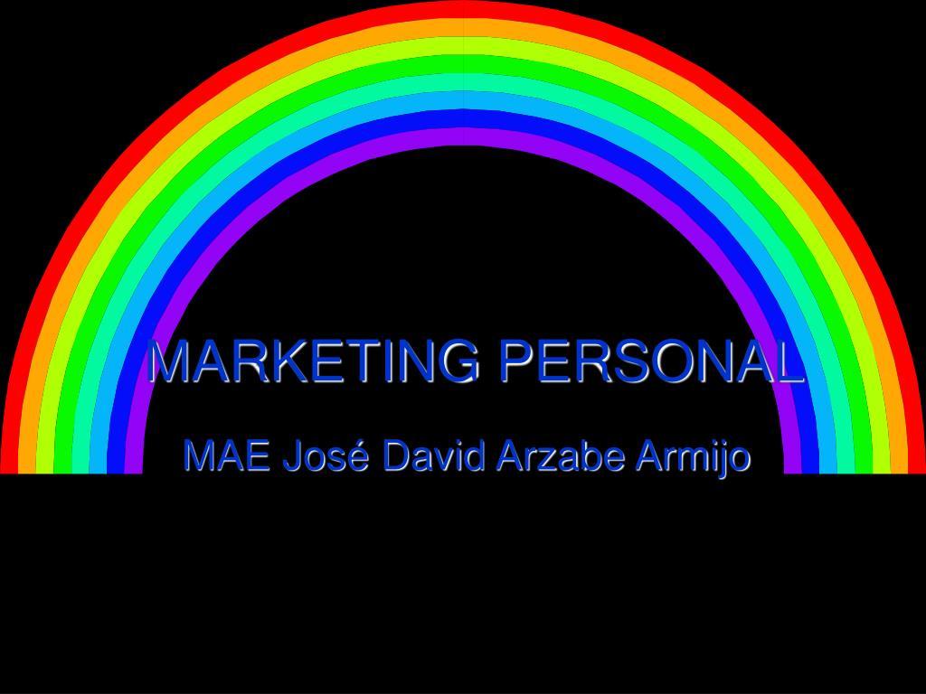 MARKETING PERSONAL