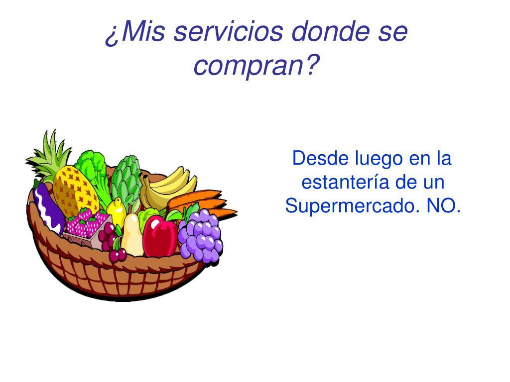 ¿Mis servicios donde se