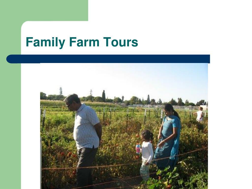 Family Farm Tours