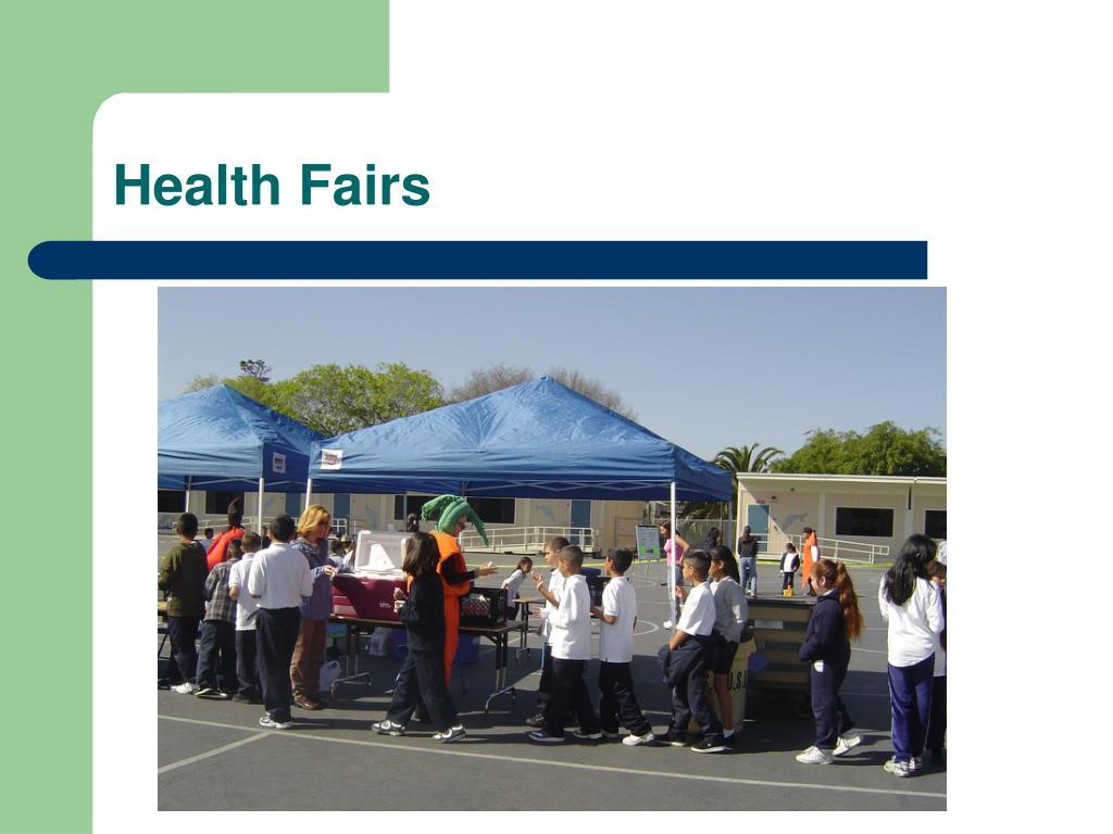 Health Fairs