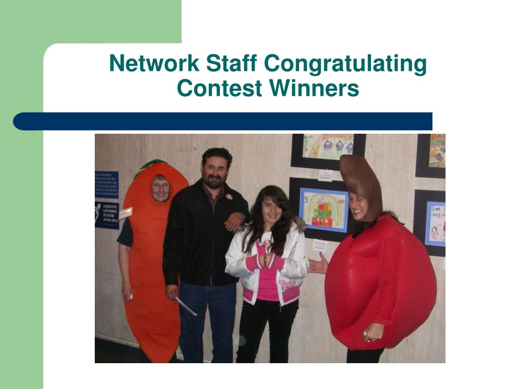 Network Staff Congratulating