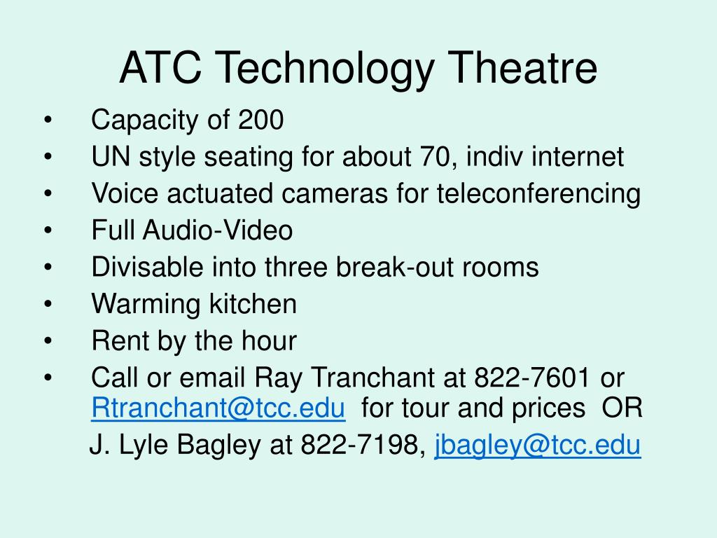 ATC Technology Theatre